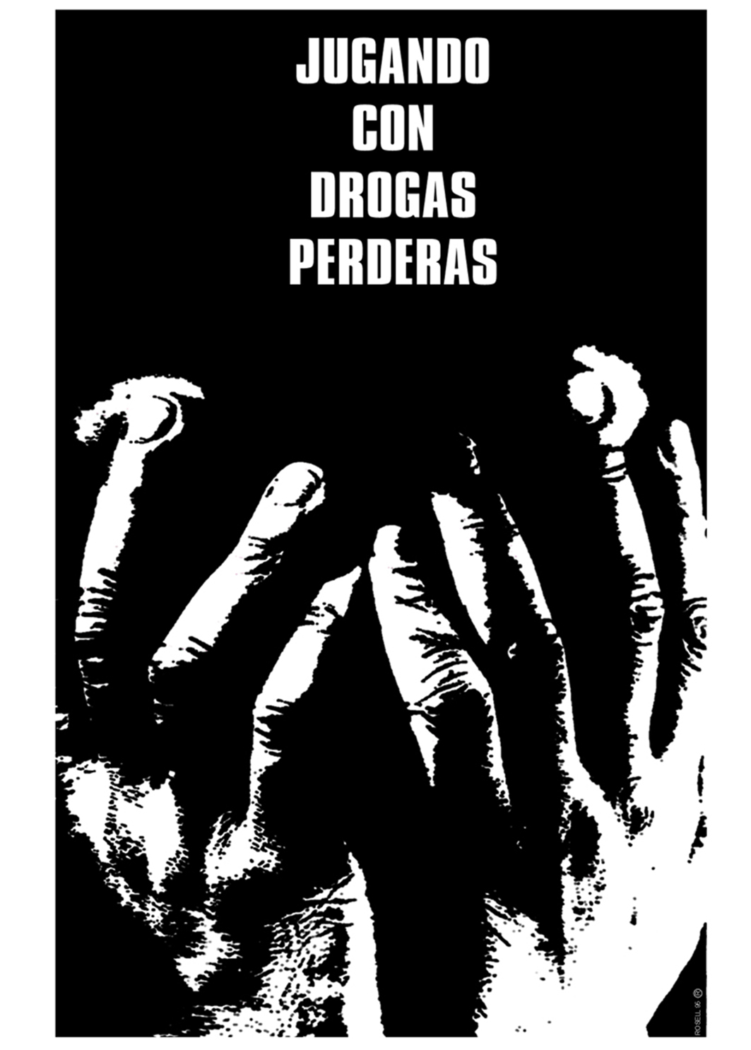 Cartel jugando con drogas_Aristides Rosell