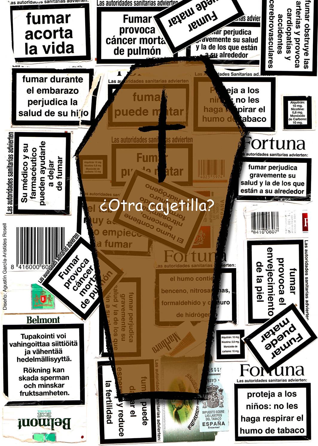 Cartel_Otra Cajetilla_Aristides Rosell_Agustín García